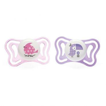 Chicco Πιπίλα Light Ροζ Κοτοπουλάκι / Πουλάκι Ηλικία 2-6 μηνών 2 τεμ - Αξεσουάρ για Μωρά στο Pharmeden.gr - Online Φαρμακείο