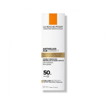 La Roche Posay Anthelios Age Correct Daily Care SPF 50 50ml - Αντηλιακά στο Pharmeden.gr - Online Φαρμακείο