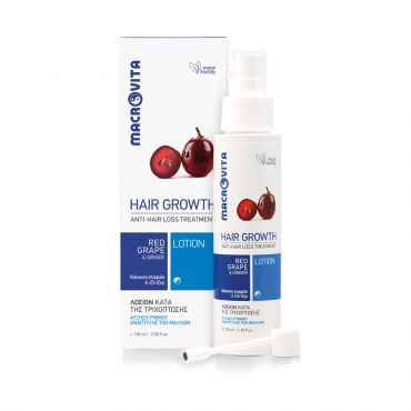 Macrovita Λοσιόν κατά της Τριχόπτωσης 100ml - Μαλλιά στο Pharmeden.gr - Online Φαρμακείο
