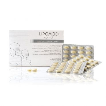 Synchroline Lipoacid Combi 30 tabs - Συμπληρώματα Διατροφής στο Pharmeden.gr - Online Φαρμακείο