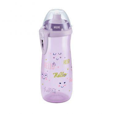 Nuk First Choice PP Sports Cup Παγουράκι με Καπάκι Push-Pull 36m+  Ροζ 450ml - Αξεσουάρ για Μωρά στο Pharmeden.gr - Online Φαρμακείο