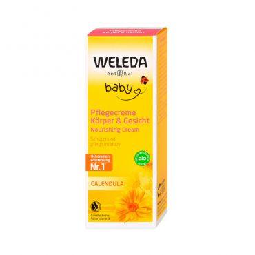 Weleda Baby Κρέμα Καλέντουλας για Μωρά 75ml - Βρέφη στο Pharmeden.gr - Online Φαρμακείο