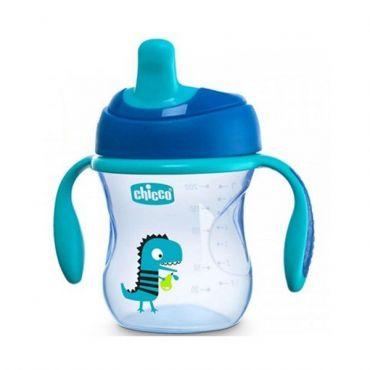Chicco Ποτηράκι Εκπαιδευτικό Training Cup Γαλάζιο 6m+ 200ml 1τεμ - Αξεσουάρ για Μωρά στο Pharmeden.gr - Online Φαρμακείο