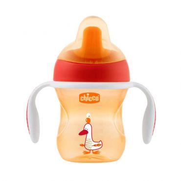 Chicco Ποτηράκι Εκπαιδευτικό Training Cup Πορτοκαλί 6m+ 200ml 1τεμ - Αξεσουάρ για Μωρά στο Pharmeden.gr - Online Φαρμακείο