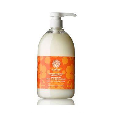 Garden Aναζωογονητικό Αρωματικό Αφρολουτρο Vanilla & Indian Cress 1lt - Σώμα στο Pharmeden.gr - Online Φαρμακείο
