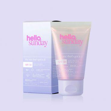Hello Sunday Invisible Face primer SPF 50 Βάση για Μακιγιαζ 50ml - Μακιγιάζ στο Pharmeden.gr
