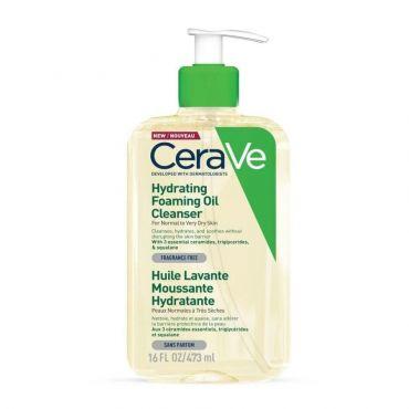 CeraVe Hydrating Foaming Oil Cleanser 473ml - Πρόσωπο στο Pharmeden.gr
