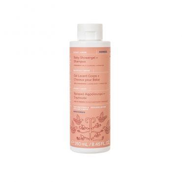 Korres Βρεφικό Αφρόλουτρο & Σαμπουάν Coconut + Almond 250ml - Βρέφη στο Pharmeden.gr