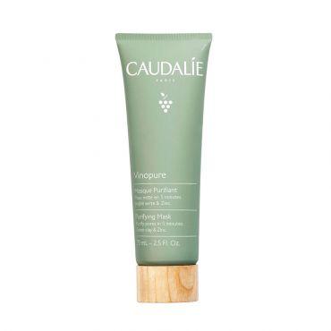 Caudalie Vinopure Masque Purifiant Anti-Imperfections 75ml - Πρόσωπο στο Pharmeden.gr