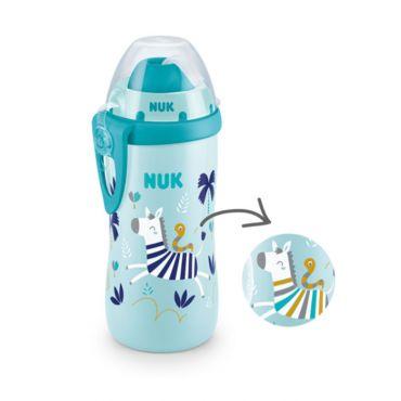 Nuk Flexi Cup Παγουράκι που Αλλάζει Χρώμα 12m+ Μπλε 300ml - Αξεσουάρ για Μωρά στο Pharmeden.gr
