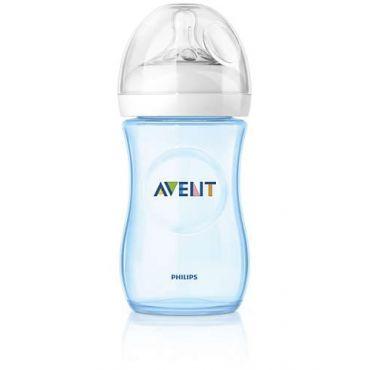 Avent Natural Μπιμπερό Πλαστικό Μπλε 260ml - Αξεσουάρ για Μωρά στο Pharmeden.gr - Online Φαρμακείο