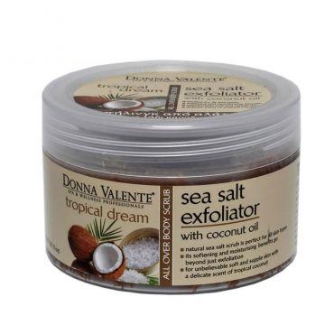 Donna Valente Tropical Dream Body Sea Salt Exfoliator 600gr - Σώμα στο Pharmeden.gr - Online Φαρμακείο