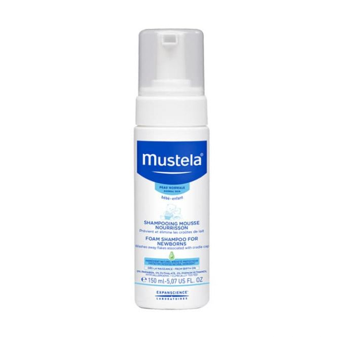 Mustela Foam Shampoo for Newborns 150ml - Βρέφη στο Pharmeden.gr - Online Φαρμακείο