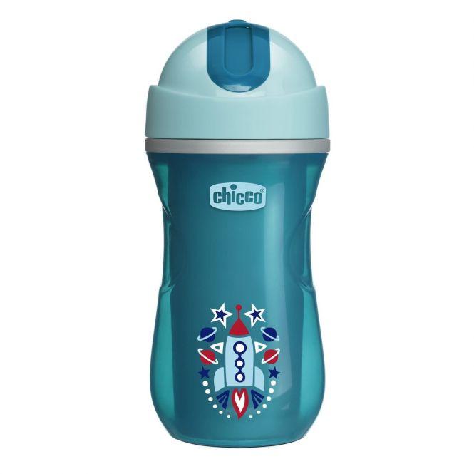 Chicco Ποτηράκι Insulated Sport Cup 14m+ 266ml 1τεμ - Αξεσουάρ για Μωρά στο Pharmeden.gr - Online Φαρμακείο
