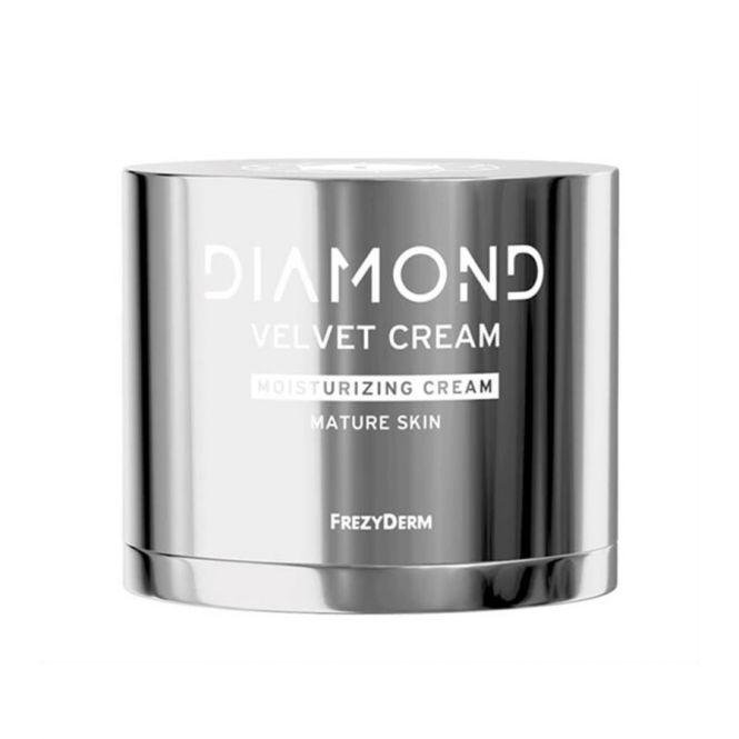 Frezyderm Diamond Velvet Moisturizing Cream 50ml - Πρόσωπο στο Pharmeden.gr - Online Φαρμακείο