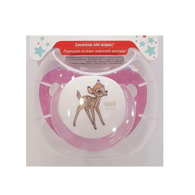 Nuk Πιπίλα Disney Classics Trendline Bambi 0-6m 1 τεμ - Αξεσουάρ για Μωρά στο Pharmeden.gr - Online Φαρμακείο