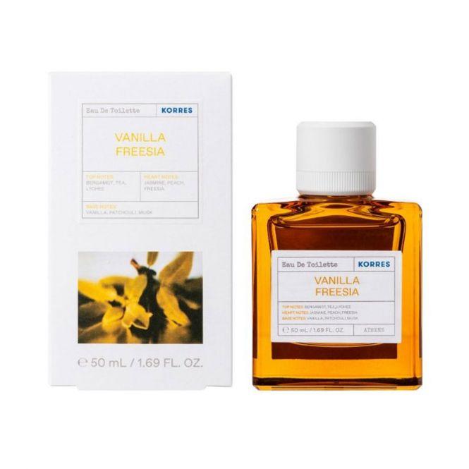 Korres Αρωμα με Βανίλια - Φρέζια - Λιτσι 50ml - Καλλυντικά στο Pharmeden.gr - Online Φαρμακείο