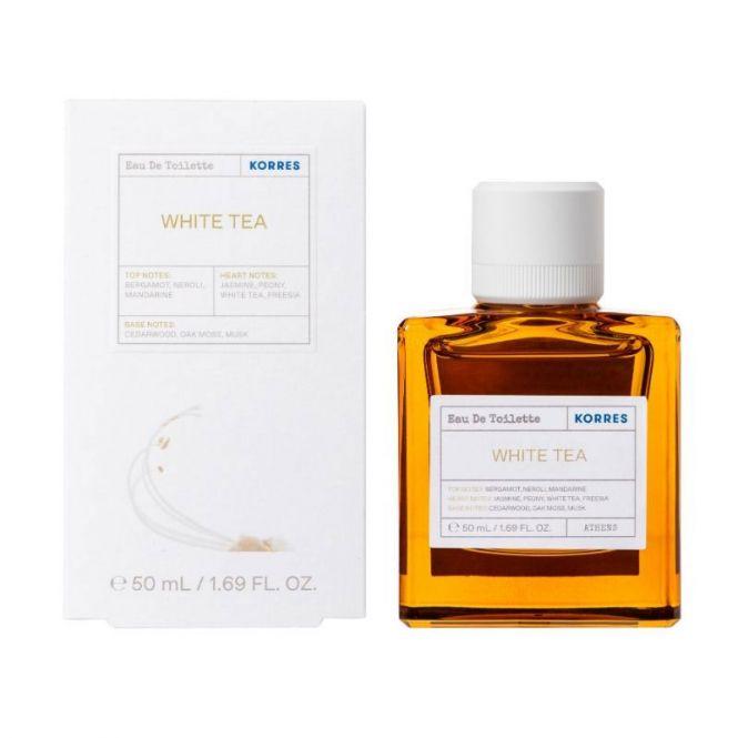 Korres White Tea  Eau De Toilette 50ml - Καλλυντικά στο Pharmeden.gr - Online Φαρμακείο