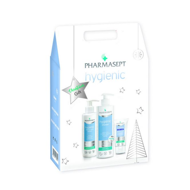 Pharmasept Christmas Gift Hygienic  Tol Velvet Hygienic Shower 500ml & Tol Velvet Hygienic Extra Calm Lotion 250ml & Intensive Hand Cream 75ml -  στο Pharmeden.gr - Online Φαρμακείο