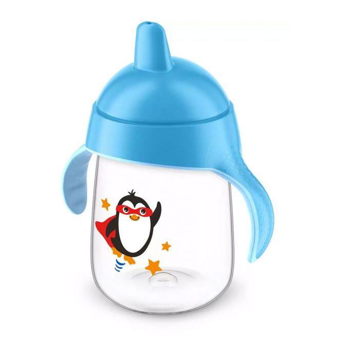 Avent Κύπελλο με Λαβές Μπλε 18m+ 340ml - Αξεσουάρ για Μωρά στο Pharmeden.gr - Online Φαρμακείο