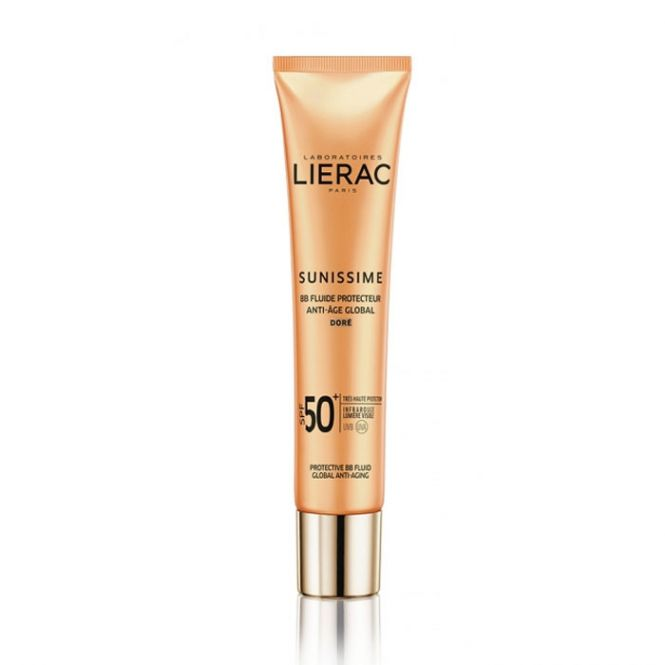Lierac Sunissime BB Dore Fluide Protecteur Anti-Age Global SPF50+ 40ml - Αντηλιακά στο Pharmeden.gr - Online Φαρμακείο
