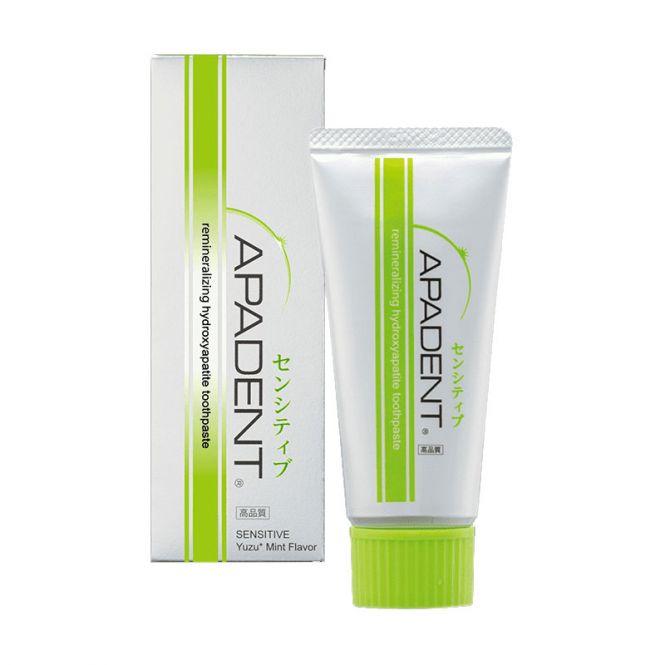Apadent Οδοντόπαστα Sensitive With Japanese YUZU 60gr - Στοματική Υγιεινή στο Pharmeden.gr